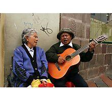 People 4059 Quito, Ecuador Photographic Print