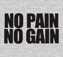 no pain no gain by 1453k