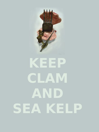 Keep Clam and Sea Kelp by privateamber