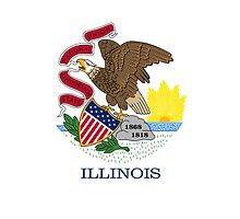 Smartphone Case - State Flag of Illinois - Horizontal by Mark Podger