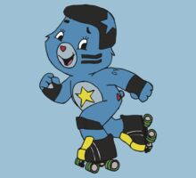 Roller Derby Care Bear (Jammer Bear) by altair4