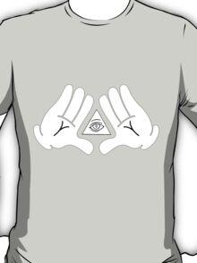 illuminati Mickey hands T-Shirt
