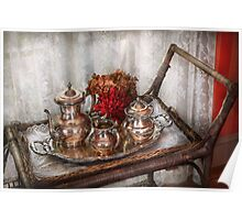 Barista - Tea Set - Morning tea  Poster