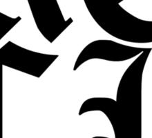 Gothic Rock Rocker Sticker