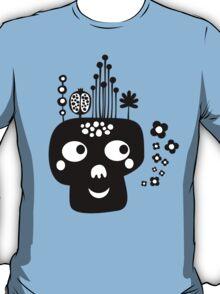 Funny skull. T-Shirt