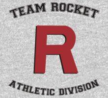 Team Rocket Athletic Tee by hunnydoll
