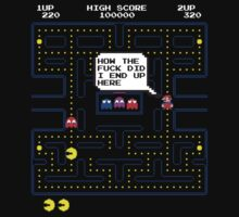 Mario in pacman world by RetroGameAddict