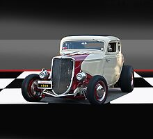 1934 Ford Hi Boy Coupe by DaveKoontz