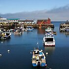 Rockport MA Harbor by jedesigns