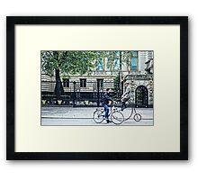 Time Tandem Framed Print