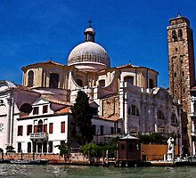 """Chiese San Geremia, Venice, It. by Richard """"Dick"""" D'Angelo"""