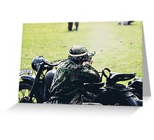VE Day Re-enactment Greeting Card