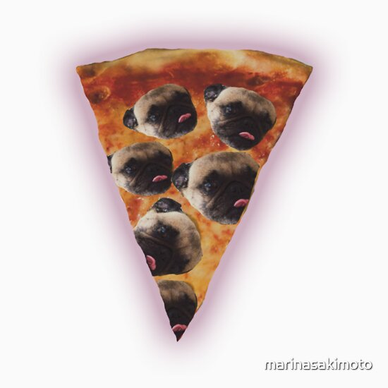 Pug Pizza T-Shirts & Hoodies