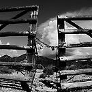 Locked Up in Nowhere Landscape by Amyn Nasser