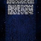Doctor Who TARDIS Typography by Larizze Ocampo