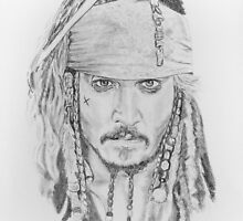 Johnny Depp as Captain Jack by jennypenny135