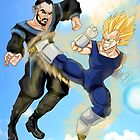 Vegeta vs Zod by THSWESSEL