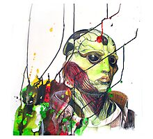 Thane Krios Mass Effect Portrait Photographic Print