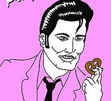 Elvis Pretzley by jwillustration