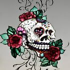 Sugar Skull Rose by Melanie Froud