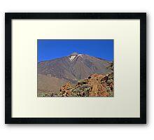 Mount Teide Tenerife Framed Print