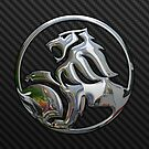 Holden Logo in Silver Chrome by Chromed