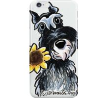 Sunny Schnauzer iPhone Case/Skin