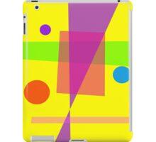 Existence Yellow iPad Case/Skin