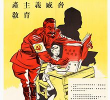 Old Cummunism Poster by Chris L Smith