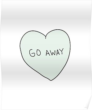 Go Away Heart by laurenschroer