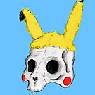 The Skull of Pikachu by Luke Thornhill
