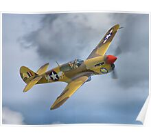 The Fighter Collection's Merlin-Engined P-40F Poster
