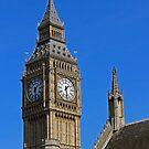 Big Ben the Elizabeth Tower by Avril Harris