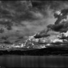 Rowboats and Clouds on Lake Watson by Wayne King