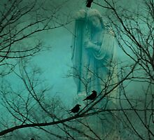 Blue Mist Angel by gothicolors