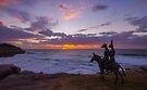 Enjoying the Sunrise by yolanda