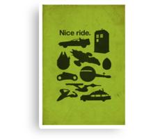 Nice Ride Canvas Print