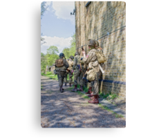VE Day Re-enactment Canvas Print