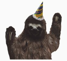 Party Animal - Sloth Kids Clothes