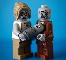 Zombie Family Portrait by eriqmartinez
