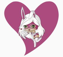 Chibi White Rabbit alt by artwaste