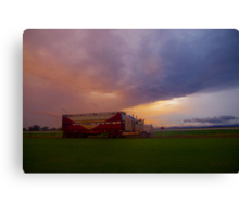 Truckload of storms Canvas Print
