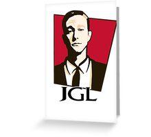 Joseph Gordon-Levitt - KFC Logo Greeting Card