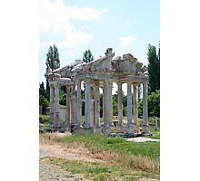 The Four Roman Columns Of The Ceremonial Gateway Photographic Print
