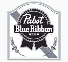 Pabst Blue Ribbon Beer by Michael Sundburg