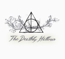 Floral Deathly Hallows by LovelyOwls