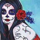Leela Day of the Dead by Renee Lavoie
