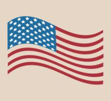 American Flag Wave by CarbonClothing