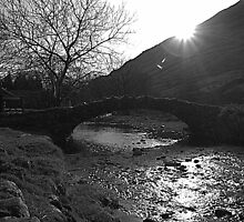 Packhorse Bridge by Lou Wilson