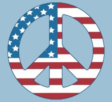 4th July Peace Kids Clothes